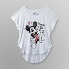 Disney Mickey & Minnie Junior's Crop Top at Sears.com