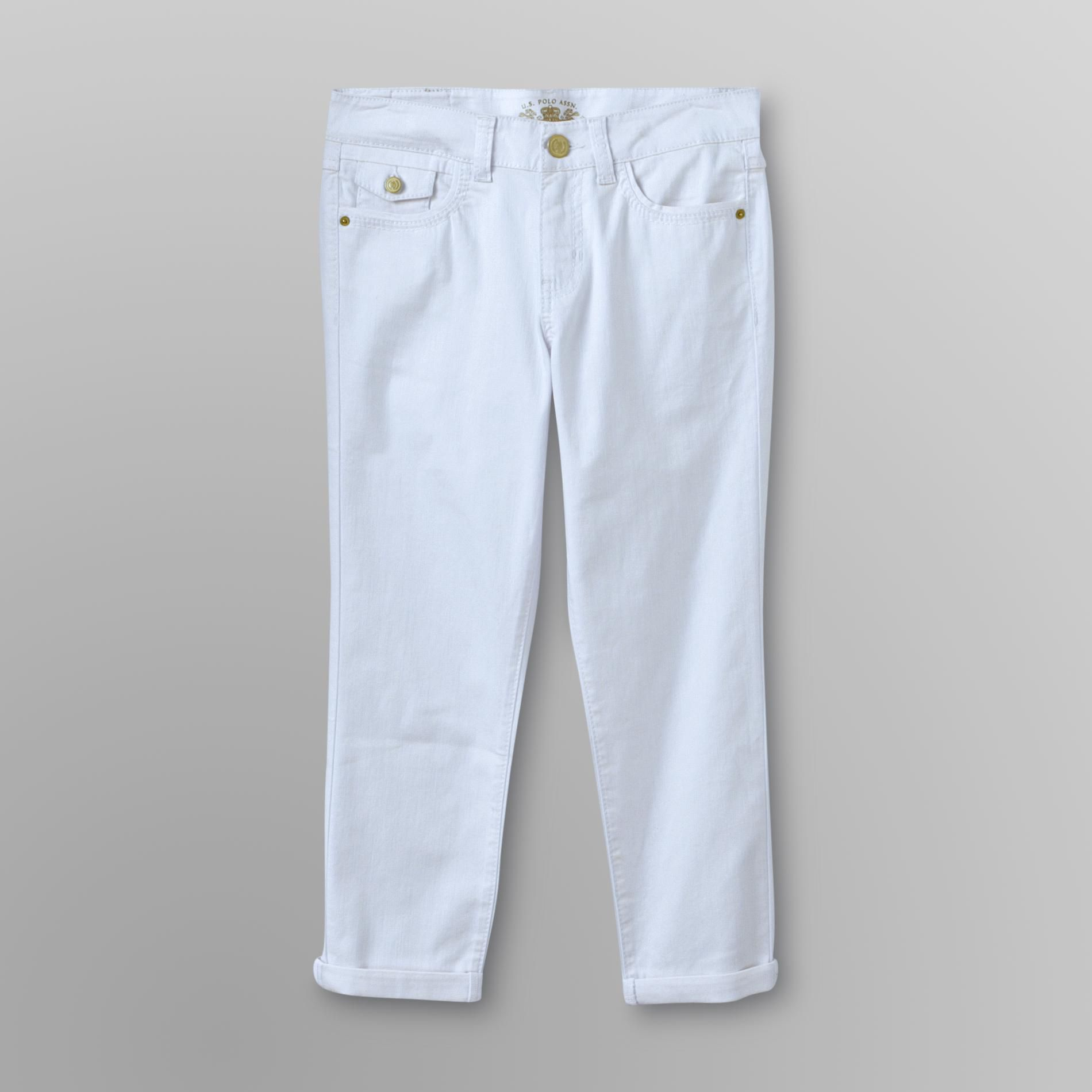 US Polo Assn. Women's Cuffed Ankle Jeans at Sears.com