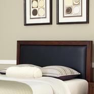 Home Styles Duet Queen Panel Headboard Black Leather Inset at Kmart.com