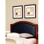 Home Styles Duet Queen Camelback Headboard Black Leather Inset at Kmart.com