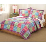 Kelsey Pink Quilt with Sham at Kmart.com