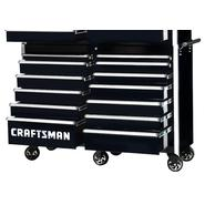 "Craftsman 54"" 13-Drawer Ball Bearing Slides Roller Cabinet Black at Sears.com"