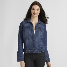 Gloria Vanderbilt Women's Melanie Denim Jacket at Sears.com