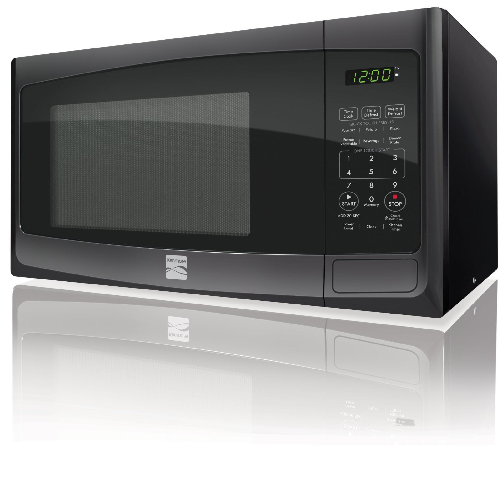 Kenmore 0.9 Cu. Ft. Countertop Microwave Black