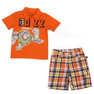 Disney Infant & Toddler Boy's 2 Pc Buzz Lightyear Polo Short Set at Sears.com