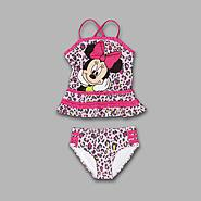 Disney Girl's 'Wild Minnie' 2 Pc Swimsuit at Kmart.com