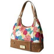 Sag Harbor Women's Tech Mate Floral Four-poster Handbag at Sears.com