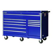 "International 56"" 10-Drawer Ball Bearing Slides Roller Cabinet Blue at Kmart.com"