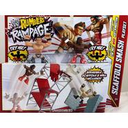 WWE The Miz & Kofi Kingston w/ Scaffold Smash Playset - WWE Rumblers Rampage Toy Wrestling Action Figures at Sears.com