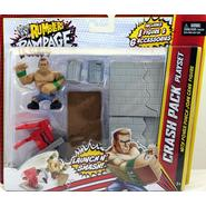 WWE John Cena w/ Crash Pack Playset - WWE Rumblers Rampage Toy Wrestling Action Figure at Kmart.com