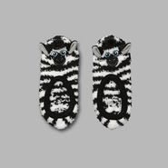 Joe Boxer Women's 'Zebra Bean' Slipper Socks at Sears.com