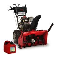 Craftsman 26-33'' Gas Snow Blower with Gas Can        ...