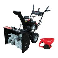 Power Smart 22-24'' Gas Snow Blower with Salt Spreader...