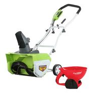 Greenworks Electric Snow Thrower Snow Removal Bundle at Kmart.com