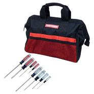 Craftsman Screwdriver Set and Portable Tool Storage B...