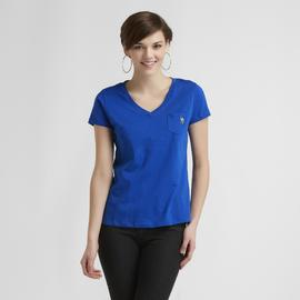 US Polo Assn. Women's V-Neck Pocket T-Shirt at Sears.com