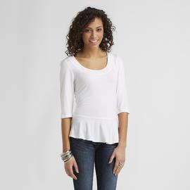 Metaphor Women's Peplum Top at Sears.com