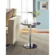 Altra Round Chrome Accent Table Purple at Kmart.com