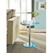Altra Round Chrome Accent Table Teal at Kmart.com