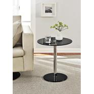 Altra Round Chrome Accent Table Black at Kmart.com