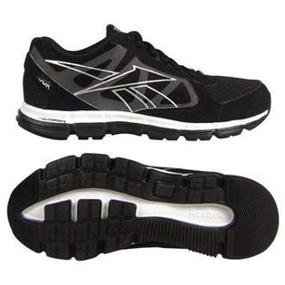 Reebok Women's Dual Turbo Running Athletic Shoe - Black/White