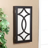 Evelyn Wall-Mount Jewelry Mirror-Black at Sears.com