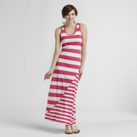Joe by Joe Boxer Women's Maxi Tank Dress - Striped at Sears.com