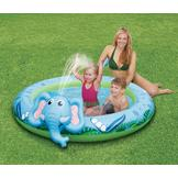 ClearWater Splash Spray Pool - Elephant at mygofer.com