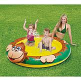 ClearWater Splash Spray Pool - Monkey at mygofer.com