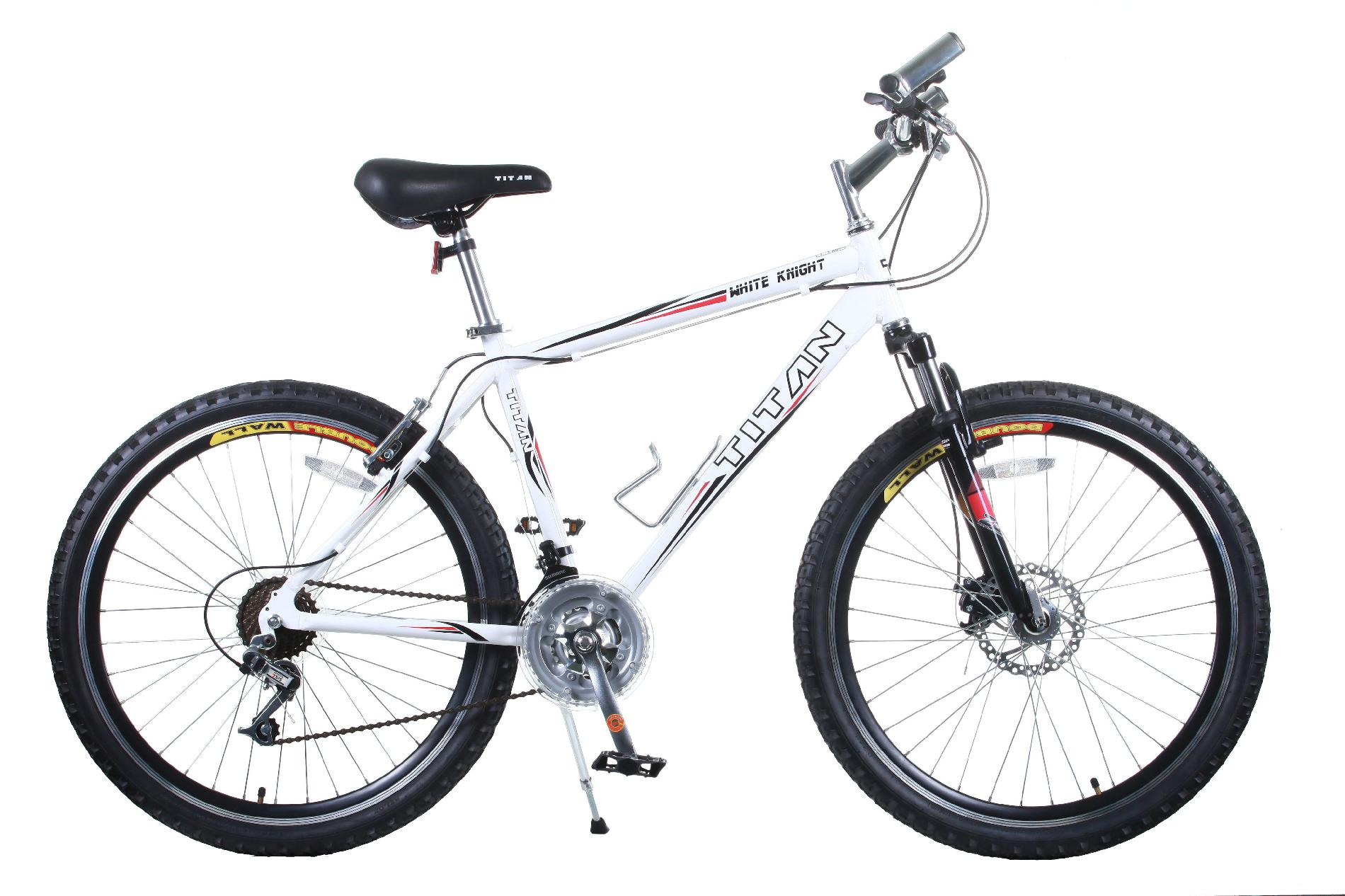 Titan White Knight 21-Speed Alloy All Terrain