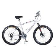 Titan White Knight 21-Speed Alloy All Terrain Mountain Bike With Suspension and Disc Brake at Sears.com