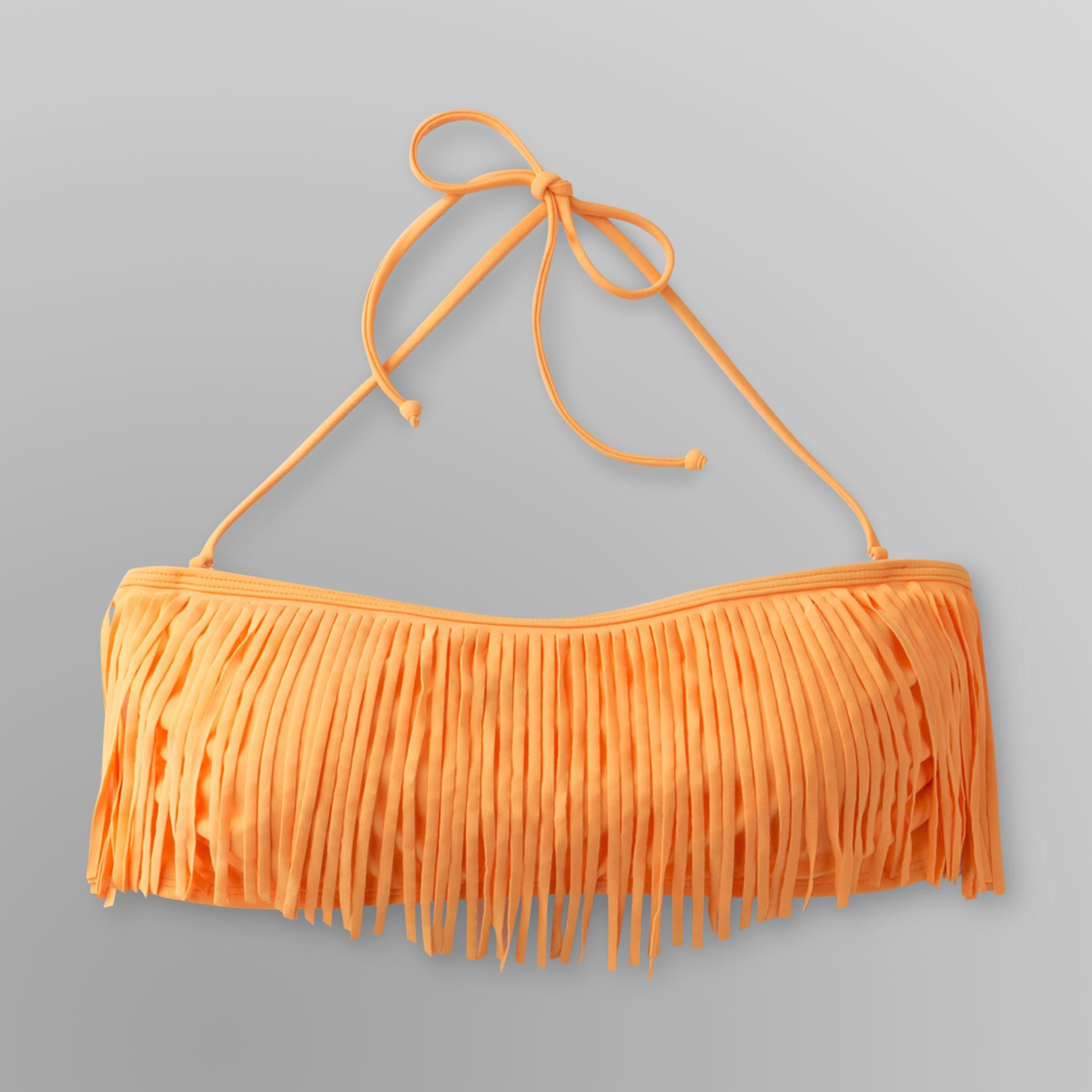 Joe Boxer Junior's Bandeau Bikini Top - Fringe at Sears.com