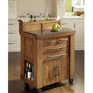 Home Styles The Vintage Gourmet Kitchen Cart at Kmart.com