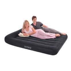 Intex Clic Full Air Mattress With Builtin Pillow And Pump