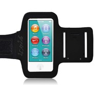 CrazyOnDigital Ionic ACTIVE Sport Armband Case for Apple iPod Nano 7th Generation 2012 New Model (Black) at Kmart.com