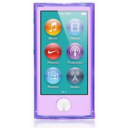 CrazyOnDigital Ionic AIR JACKET Hard Crystal Case for The New iPod Nano New Apple iPod Nano 7th Generation 2012 New Model (Purple) at Kmart.com