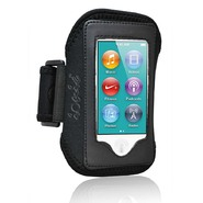 CrazyOnDigital Ionic ACTIVE Sport Armband Case for The New iPod Touch New Apple iPod Touch 5 5th Generation 5G 2012 New Model (Black) at Kmart.com