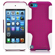 CrazyOnDigital Ionic CLASSIC Case for The New iPod Touch New Apple iPod Touch 5 5th Generation 5G 2012 New Model (Purple-White) at Kmart.com