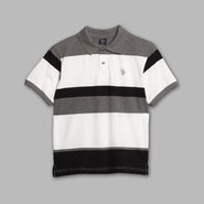 US Polo Assn. Boy's Striped Polo Shirt at Sears.com