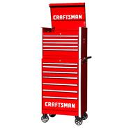 Craftsman 27-Inch 12-Drawer Vintage Tool Storage Combo - Red at Craftsman.com