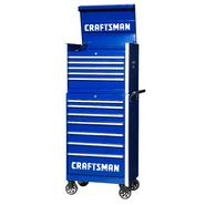 Craftsman 27-Inch 12-Drawer Vintage Tool Storage Combo -Blue at Craftsman.com