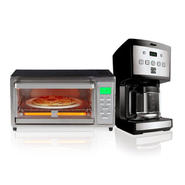 Kenmore 4 Slice Digital Toaster Oven & 12 Cup Programmable Coffee Maker Bundle at Sears.com
