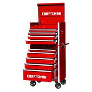 Craftsman 27-Inch 9-Drawer Vintage Tool Storage Combo - Red at Craftsman.com