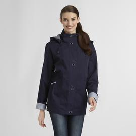 Mackintosh Women's Hooded Jacket - Stripes at Sears.com