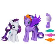 HASBRO My Little Pony Princess Luna & Rarity Figures at Kmart.com