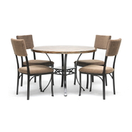 Baxton Rhea Brown 5-Piece Modern Dining Set at Sears.com