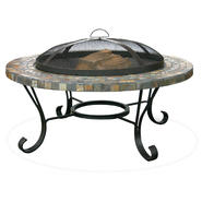 UniFlame Slate Tile / Copper Outdoor Firebowl at Sears.com