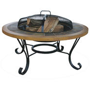 UniFlame Slate Tile/ Faux Wood Outdoor Firebowl at Sears.com