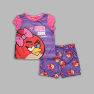 Angry Birds Toddler Girl's 2 Pc Short Sleeve 'Cute Chick' Pajama Set at Kmart.com