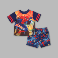 Marvel Infant & Toddler Boy's 2 Pc Short Sleeve Pajama Set at Kmart.com